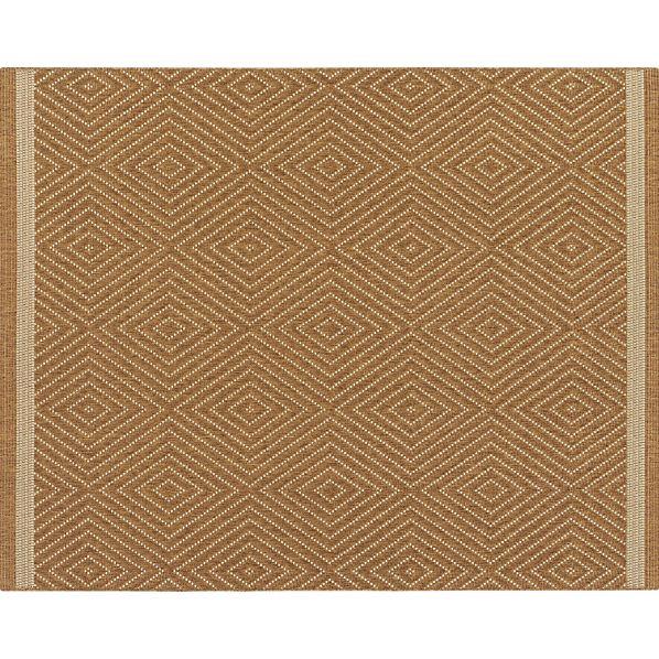 Trellis Natural Indoor-Outdoor 8'x10' Rug