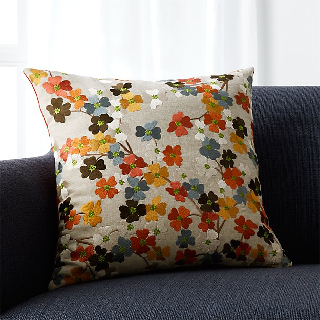 Crate And Barrel Decorative Pillow Covers : Tressa 18