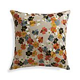 "Tressa 18"" Pillow with Feather-Down Insert"