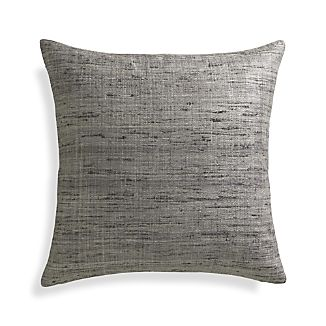 "Trevino Nickel Grey 20"" Pillow"