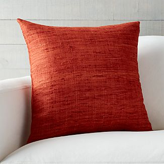 "Trevino Terra Cotta Orange 20"" Pillow"