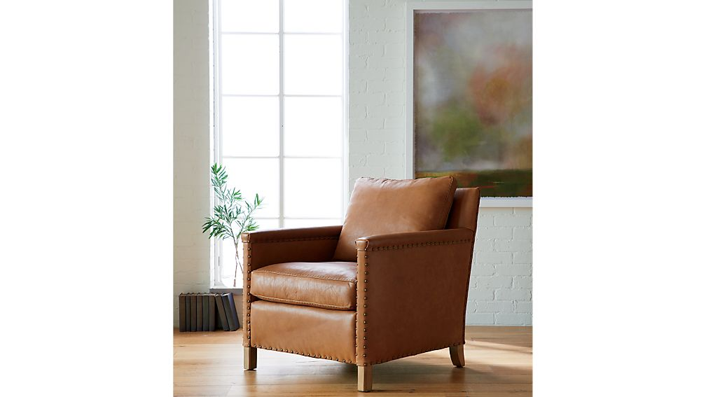 Trevor Leather Chair