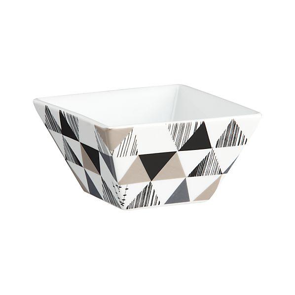 Triangle Square Bowl