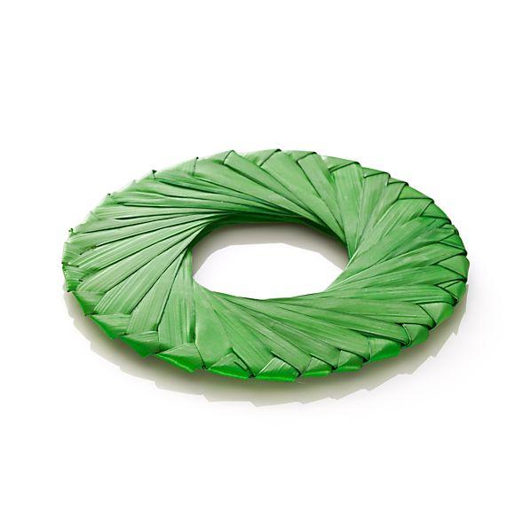 Tropic Palm Green Napkin Ring