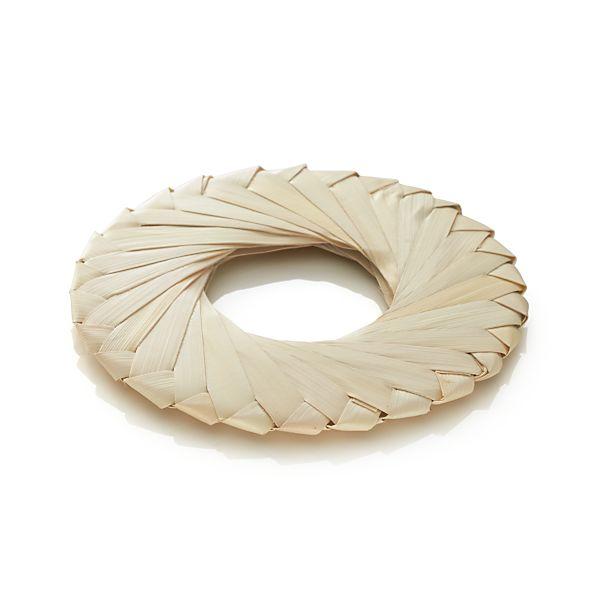 Tropic Palm Natural Napkin Ring