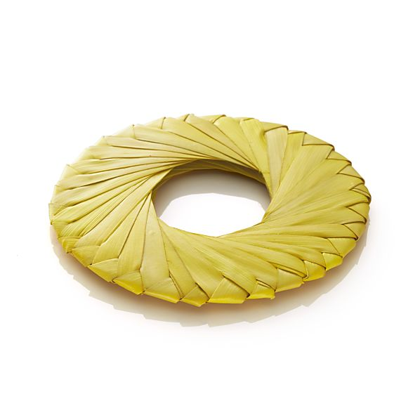 Tropic Palm Yellow Napkin Ring