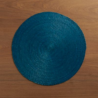 Tropical Palm Blue Placemat