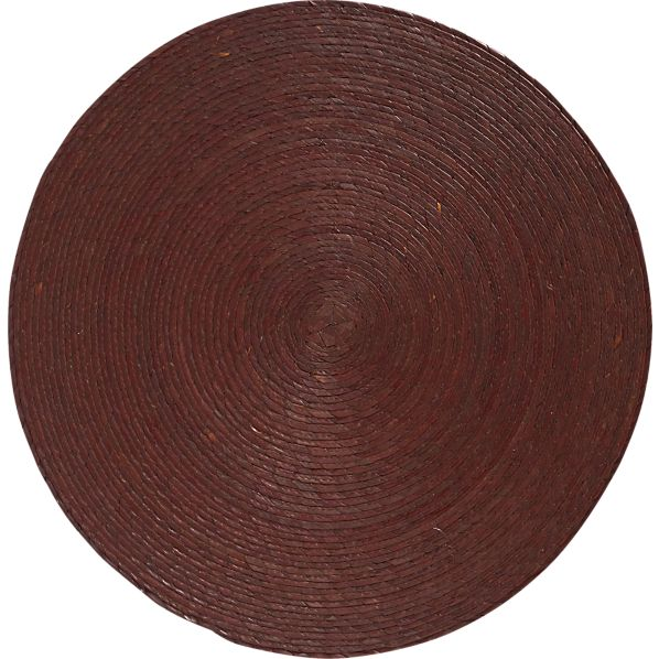 Tropical Palm Brown Placemat