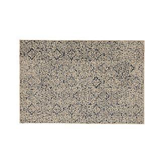 Trystan Indigo Wool-Blend 6'x9' Rug