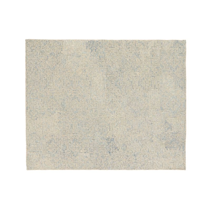 Trystan Blue Wool-Blend 8'x10' Rug