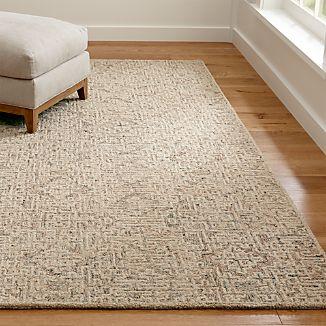Trystan Tawny Wool-Blend Rug