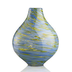 Tula Blue Green Vase