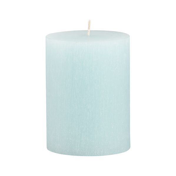 "Tupelo Aquatic 3""x4"" Pillar Candle"