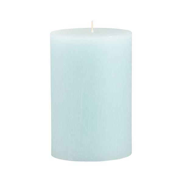 "Tupelo Aquatic 4""x6"" Pillar Candle"