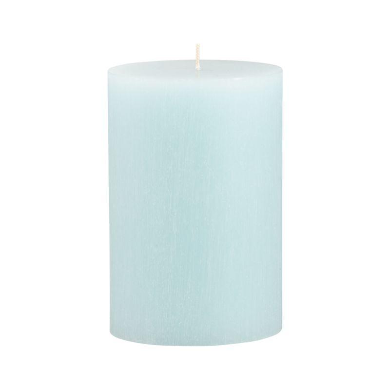 "Vertical ridges encircle this hand-poured candle, adding character and texture reminiscent of bark from the tupelo tree.<br /><br /><NEWTAG/><ul><li>Fully refined paraffin wax</li><li>Cotton wick</li><li>Hand-poured</li><li>Unscented</li><li>Burn time: 4""x6"" (120 hours)</li><li>Made in Thailand</li></ul>"