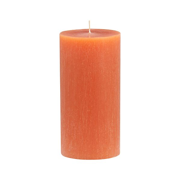 "Tupelo Amber 3""x6"" Pillar Candle"