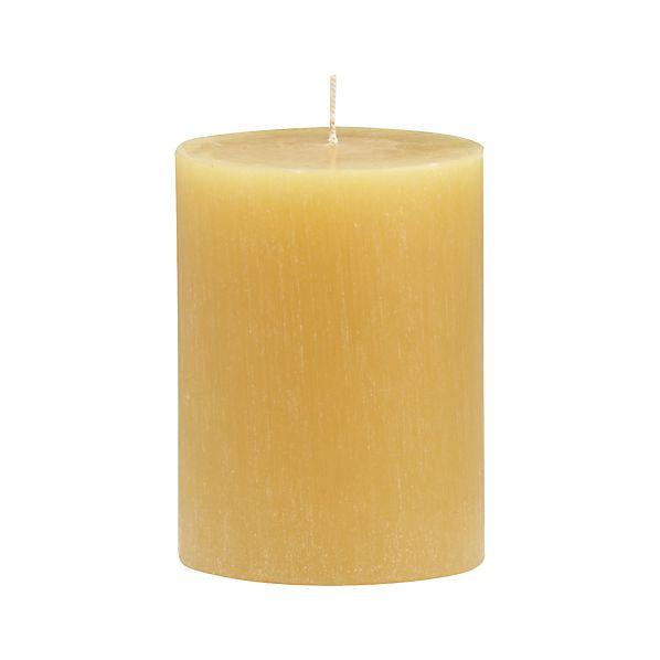 "Tupelo Ceylon 3""x4"" Pillar Candle"