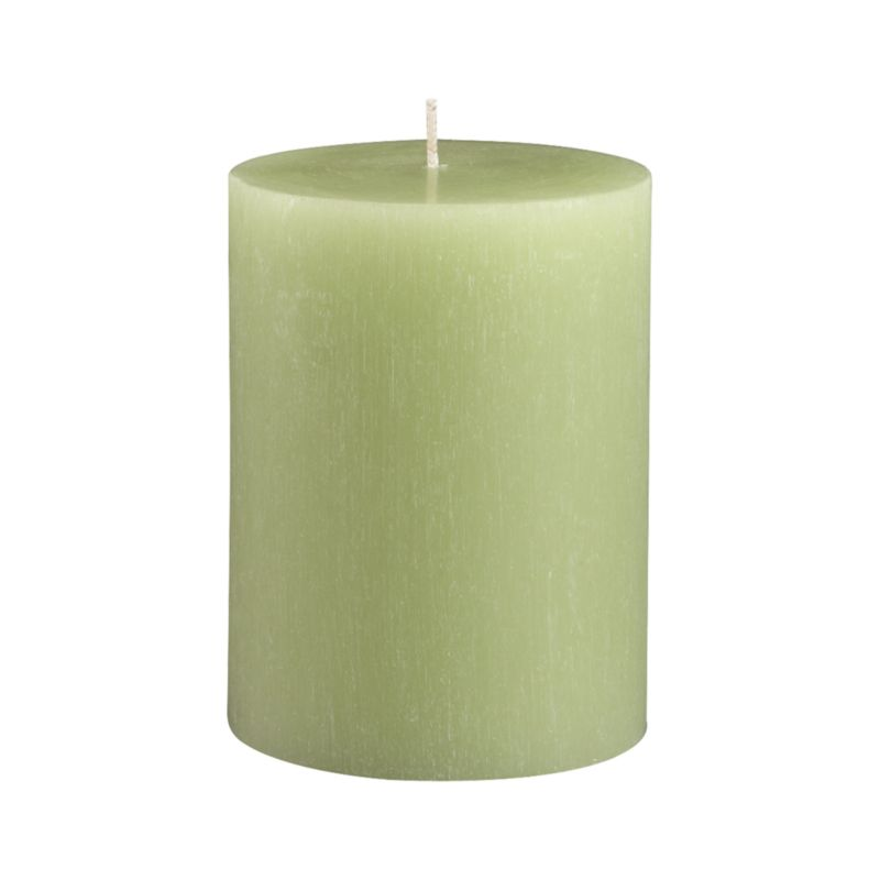 "Vertical ridges encircle this hand-poured candle, adding character and texture reminiscent of bark from the tupelo tree.<br /><br /><NEWTAG/><ul><li>Fully refined paraffin wax</li><li>Cotton wick</li><li>Hand-poured</li><li>Unscented</li><li>Burn time: 3""x4"" (50 hours)</li></ul>"