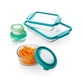 Anchor Hocking ® TrueFit 10-Piece Glass Bakeware Set