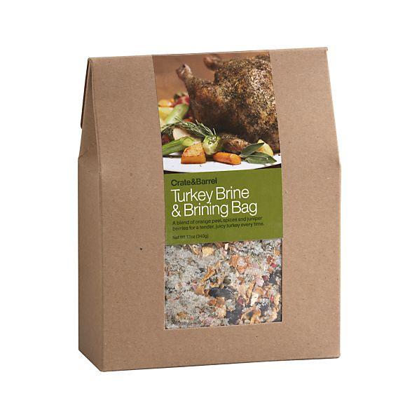 Turkey Brine & Brining Bag