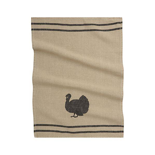 Turkey Linen Dish Towel