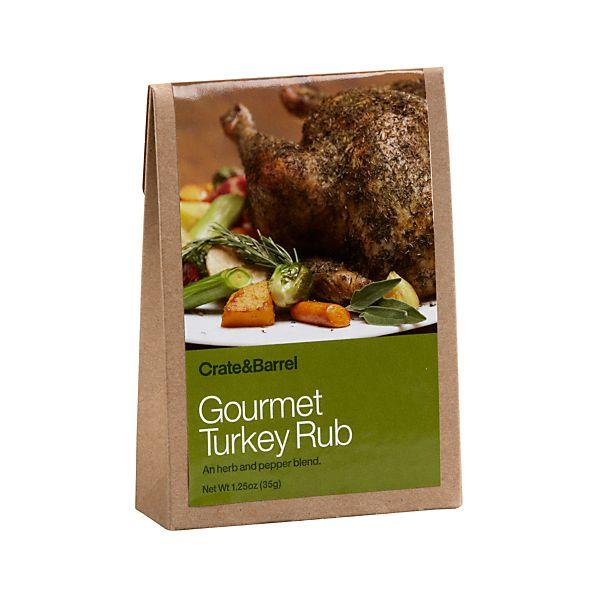 Gourmet Turkey Rub