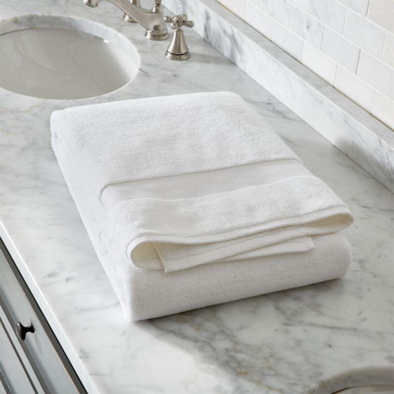 Turkish Cotton White Bath Sheet