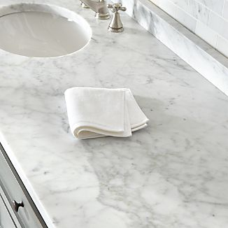 Turkish Cotton White Washcloth