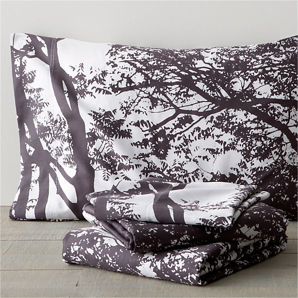 Marimekko Tuuli Raisin King Sheet Set