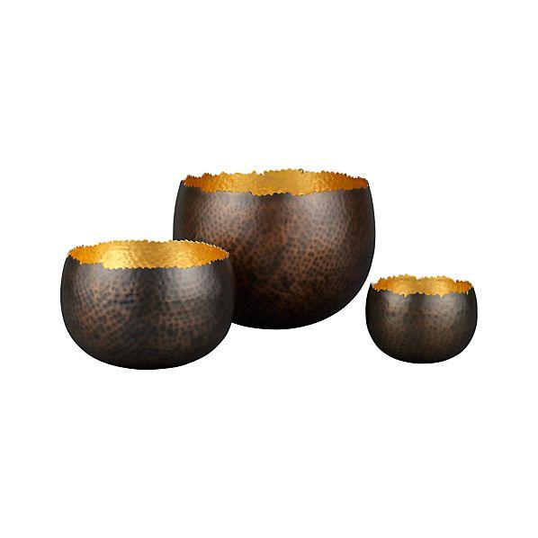 Set of 3 Tuvala Bowls
