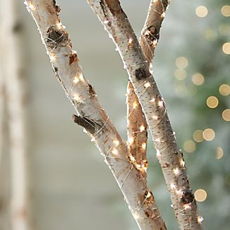 Tiny twinkling lights on a slender silver wire wrap trees, garlands and shrubbery with an elegant sparkle and warm glow. Beyond the holidays, versatile indoor-outdoor lights create a soft glow for seasonal dining al fresco.LED light bulbs and UL approved wire10' string light is battery operated using three AA batteries (not included), with an average battery life of 160 hours, and includes an optional timer function50' string light plugs into an electrical outletFor indoor or outdoor useMade in China