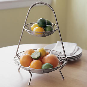 Two-Tier Fruit Basket - Basket