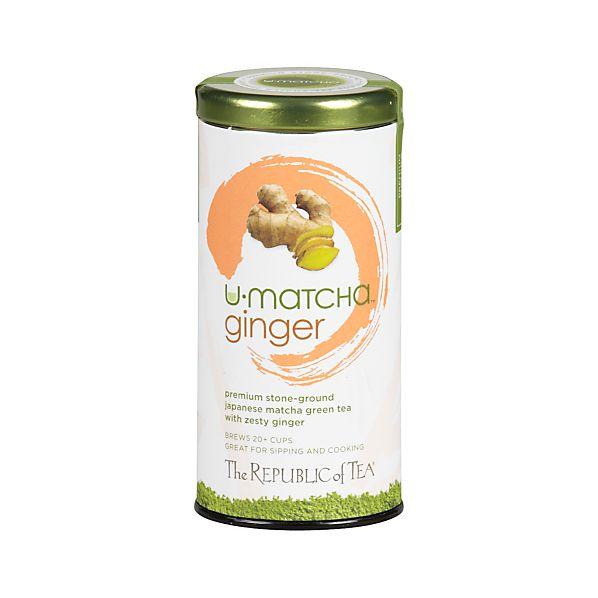 The Republic of Tea ® U-Matcha ™ Ginger Tea