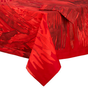 Marimekko Ulappa Red Tablecloths