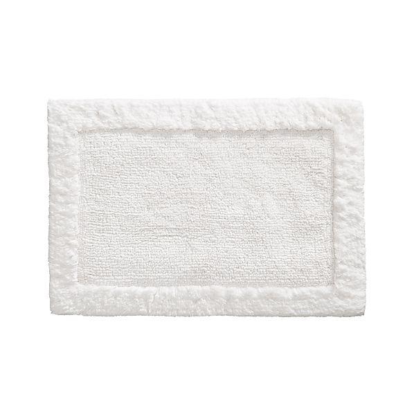 "Ultra Spa White 20""x30"" Bath Rug"