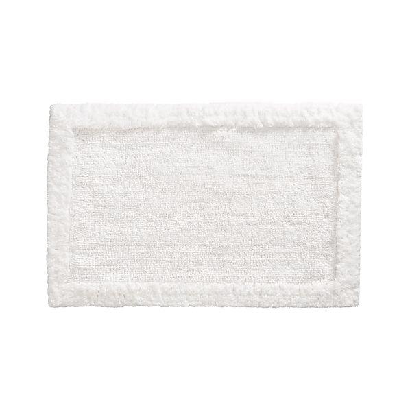 "Ultra Spa White 24""x36"" Bath Rug"