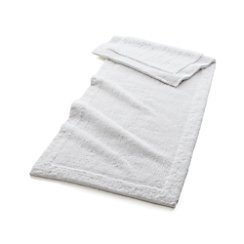 "Ultra Spa White 24""x60"" Bath Rug"