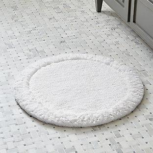 ultra spa white 24 x60 bath rug crate and barrel