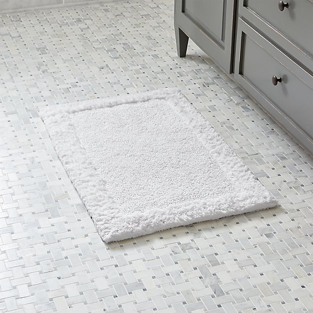 "Ultra Spa White 20""x30"" Bath Rug"