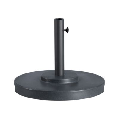 Small Charcoal Outdoor Umbrella Stand