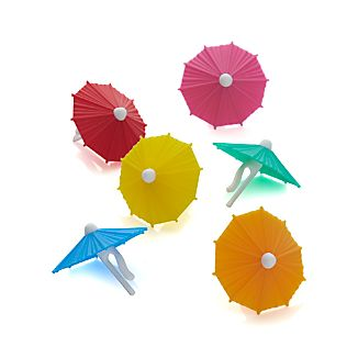 Umbrella Drink Markers Set of 6