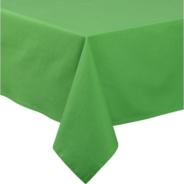 Green Rectangular Umbrella Tablecloth