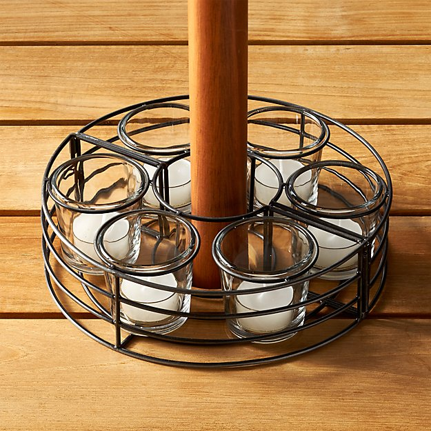 Umbrella Tea Light Centerpiece Crate And Barrel