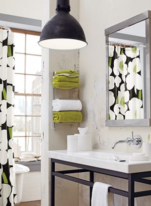 Brushed Steel Wall Mount Towel Rack