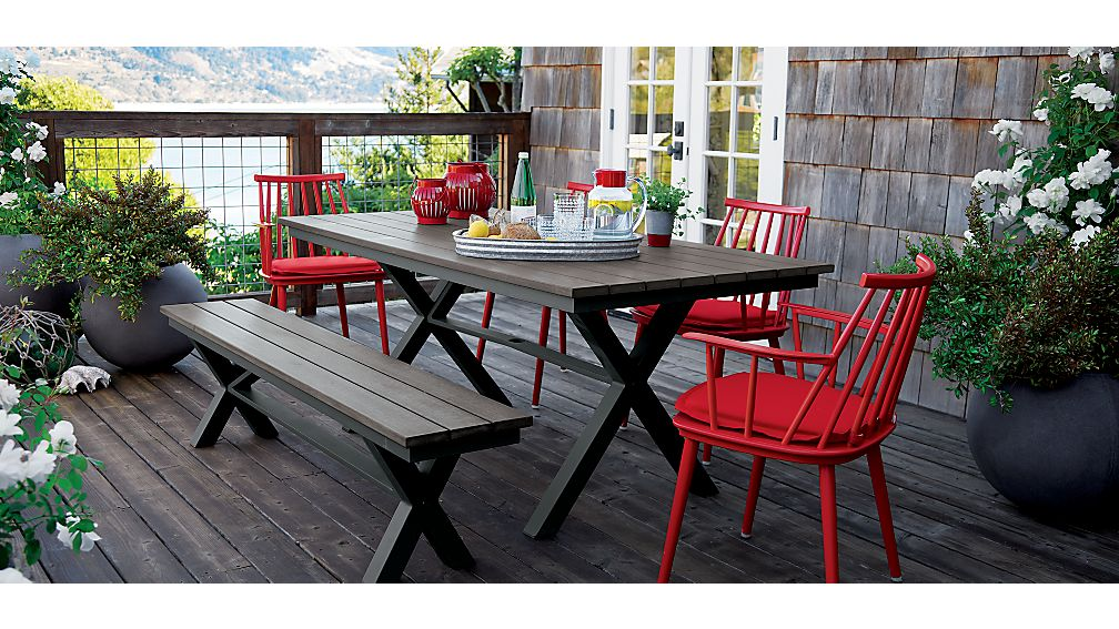 Union Sunbrella ® Dining Chair-Bar Stool Cushion