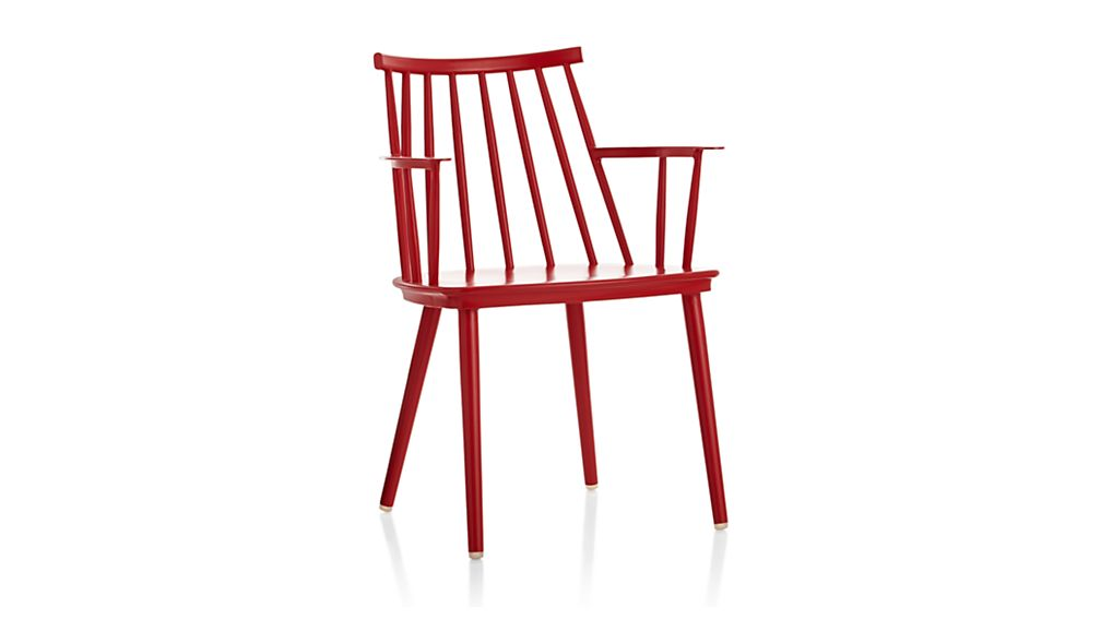 Union Red Dining Arm Chair