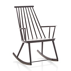 Union Charcoal Rocking Chair