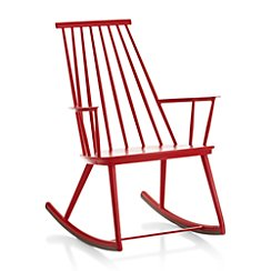 Union Red Rocking Chair
