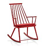 Union Red Rocking Chair with Sunbrella ® Cushion