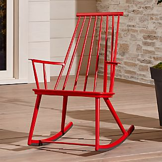Union Red Rocking Chair Clearance $149.00 reg. $299.00